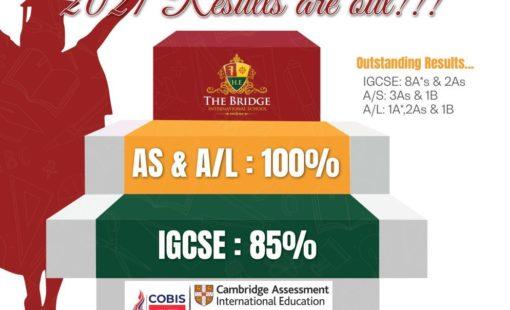 Results of the bridge international school